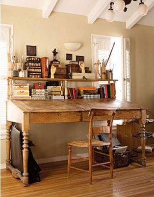 Work Space (make into standing desk instead) | [My] Saegoah Style (Bu…