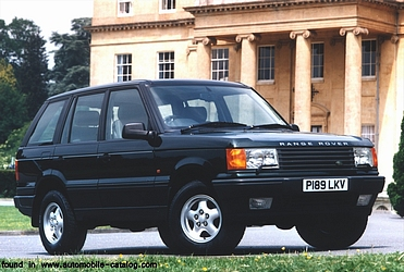 Land-Rover Range-Rover 2gen (P38) all versions & types in automobile-catalog