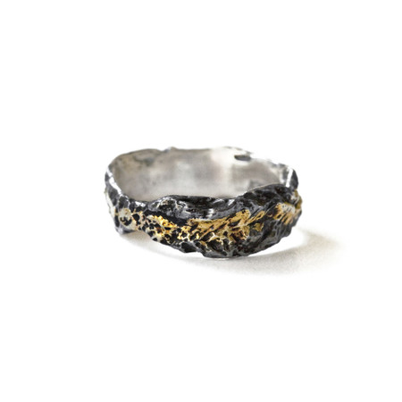 Dawn #1 Ring - Black & Gold