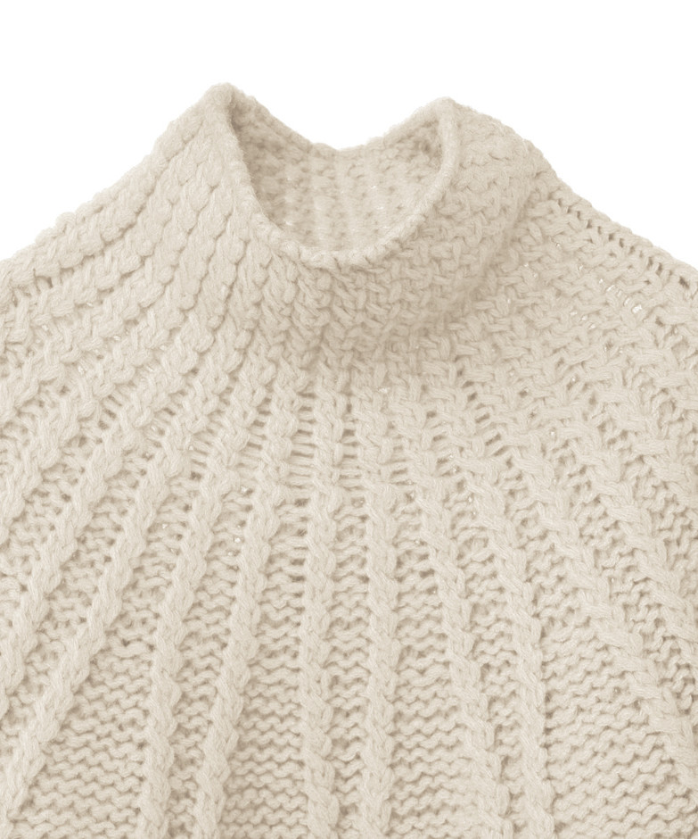 ARCH CABLE HAND KNIT|TOPS(トップス)|CLANE OFFICIAL ONLINE STORE
