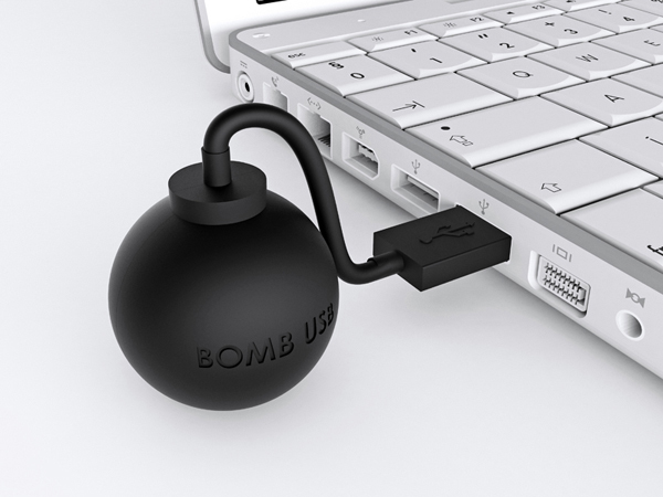 Bomb USB Flash Drive by Joel Escalona