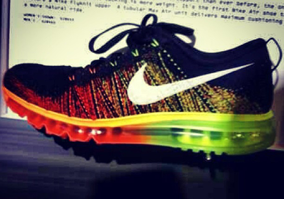FLYKNIT MAX 「LIMITED EDITION for CORE」 BLK/ORG/YEL/WHT ナイキ NIKE | ミタスニーカーズ|ナイキ・ニューバランス スニーカー 通販