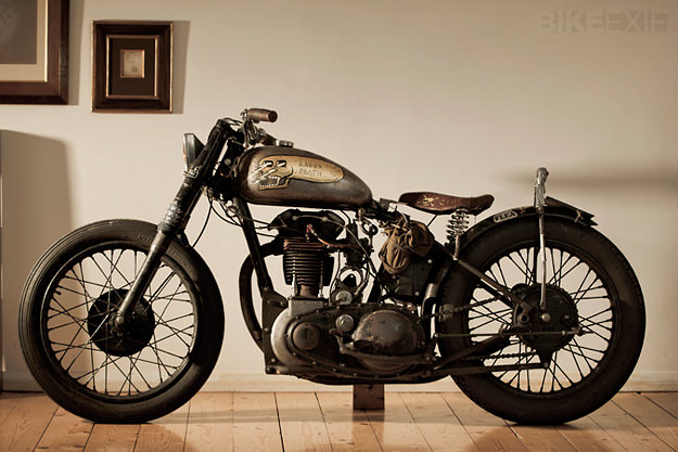 Custom BSA 'Lazer Death' by Corpses From Hell | Bike EXIF