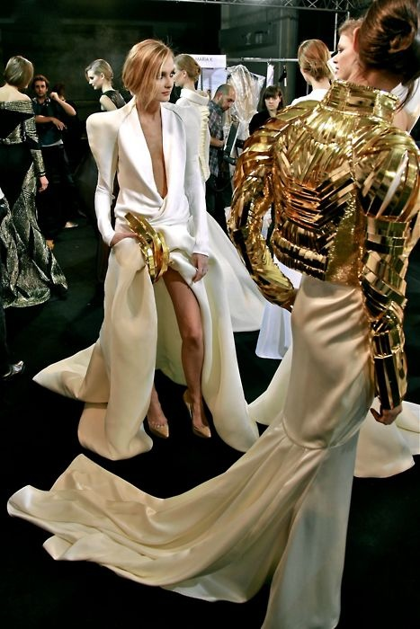 Stephane Rolland Haute Couture SS 2011 Backstage | Fashion King