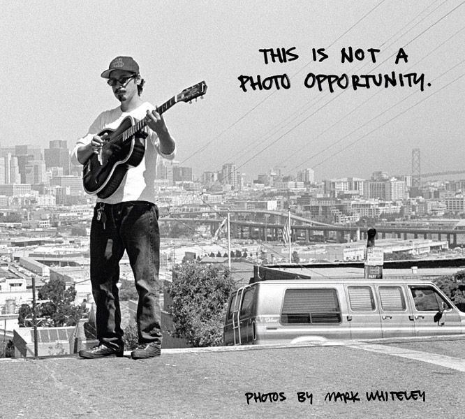 This is Not a Photo Opportunity: A Book of Photos by Mark Whiteley (book cover)