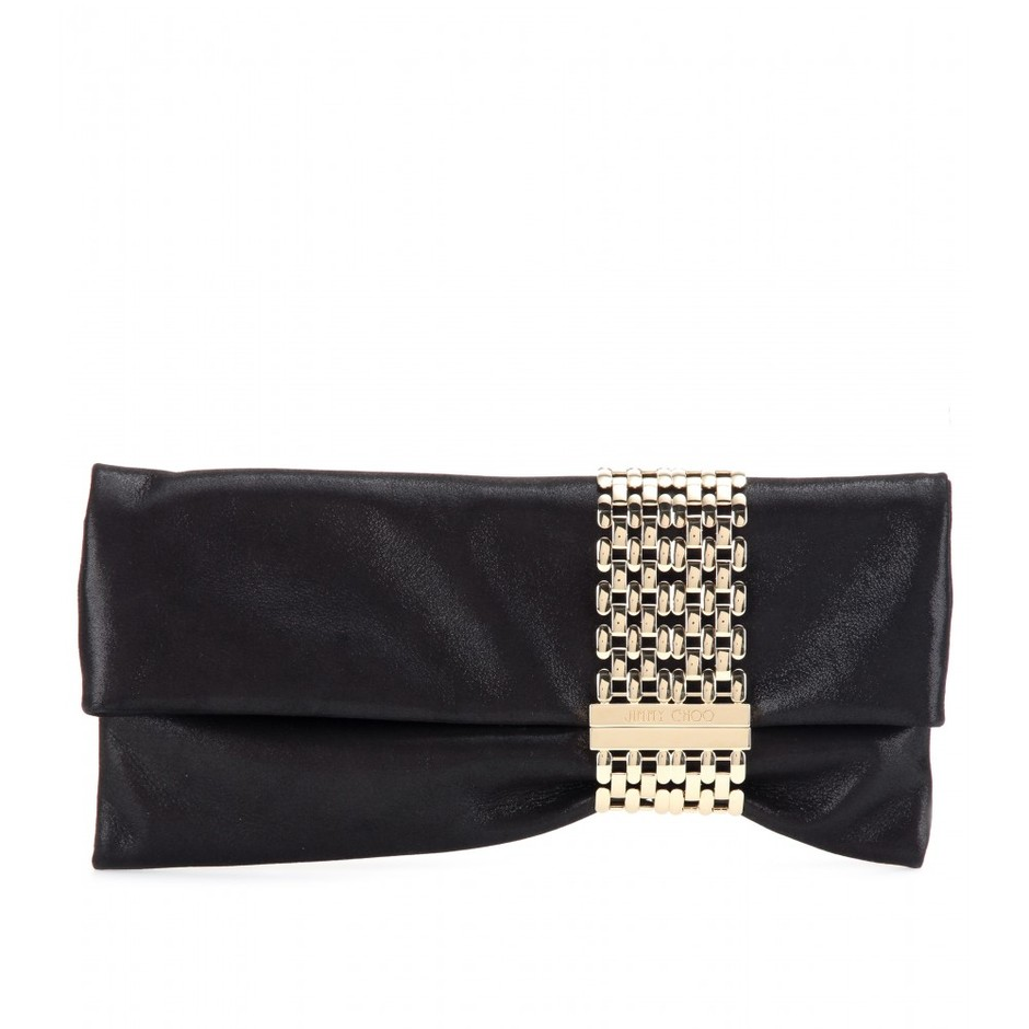 mytheresa.com - Chandra suede clutch - clutch bags - bags - Luxury Fashion for Women / Designer clothing, shoes, bags