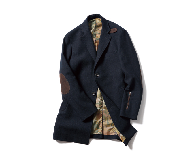 SOPHNET. | PRODUCT | BRITISH TWEED CHESTER FIELD COAT