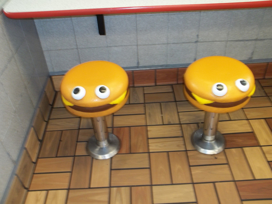 Vintage McDonaldland Stools | Flickr - Photo Sharing!