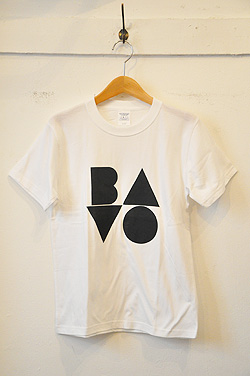 QFD / BAVOTシャツ / WHITE - ビンテージ・セレクトショップ, spacemoth/fripier zoetrope - clothing, music, cinema & books