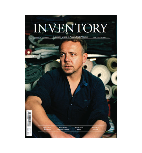 Inventory Stockroom ? INVENTORY Volume 01 Number 01 <br>Christophe Loiron Cover