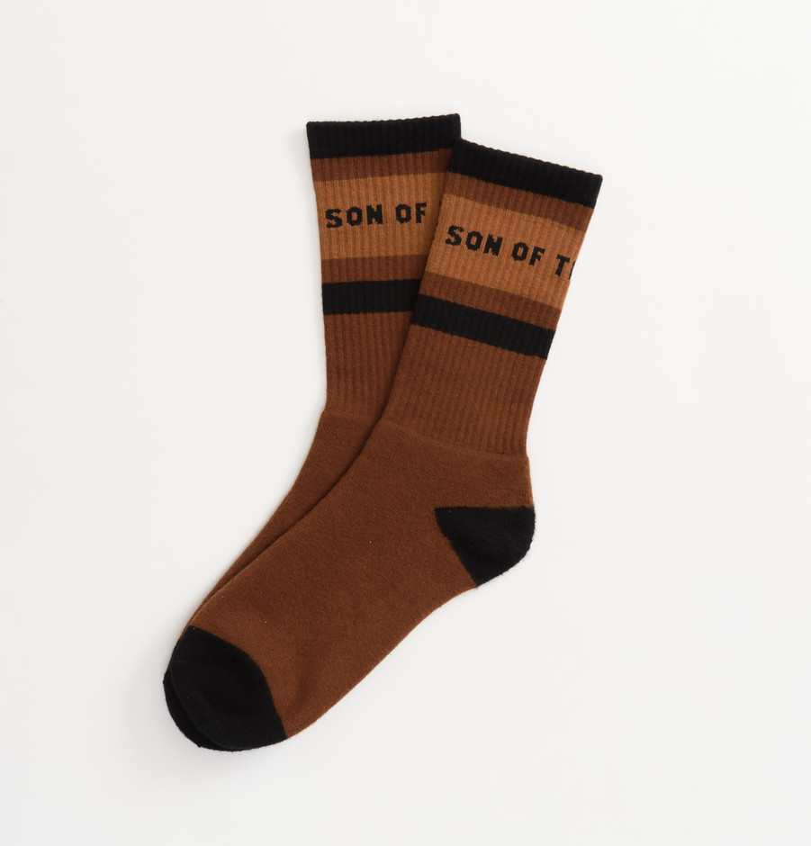 POOLSOX(BROWN) - SON OF THE CHEESE ONLINE SHOP