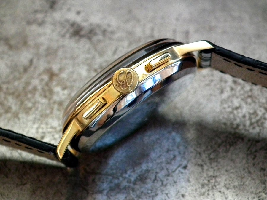 Reserved – Stunning 1960′s Steel & Gold Plated Breitling Top Time 2003 Gents Vintage Watch | Sonning Vintage Watches