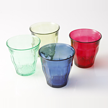 IDEE Picardie Glass Full Color Set A (4): キッチン/テーブルウェア - IDEE SHOP Online
