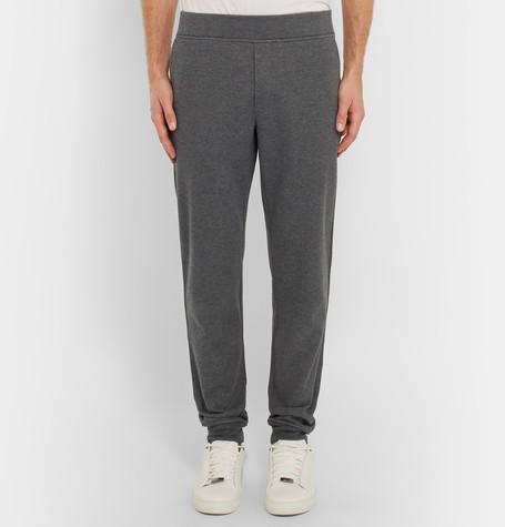 Berluti - Double-Faced Cotton-Blend Jersey Sweatpants