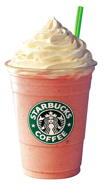 Strawberries & Crème Frappuccino on Twitpic