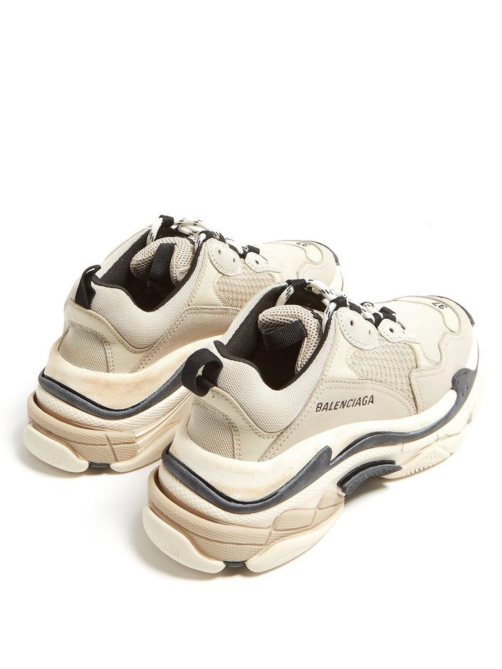 Triple S low-top trainers | Balenciaga | MATCHESFASHION.COM JP