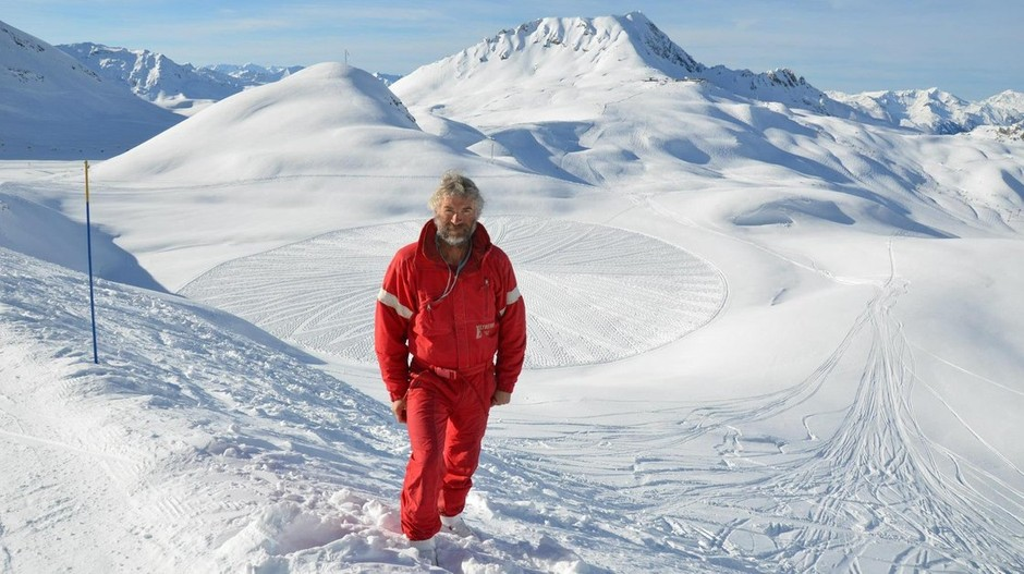 The Amazing Snow Art Of Simon Beck : 13.7: Cosmos And Culture : NPR