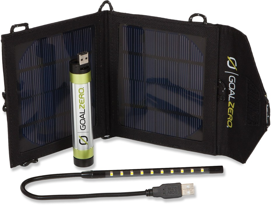 Goal Zero Switch 8 Recharging Kit with Luna LED Light - Free Shipping at REI.com
