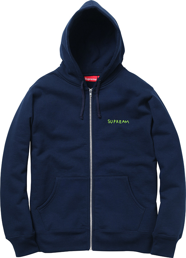 Supreme Piss Face Zip-Up
