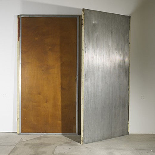 336: Jean Prouvé / doors from the Grand Casino at Royan, pair < Modern + Contemporary Design, 25 March 2007 < Auctions | Wright