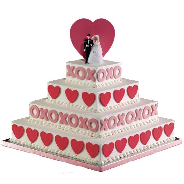 Wedding/Celebration cakes - what better way to celebrate a trip to Cancun Mexico or at hotels in Dom