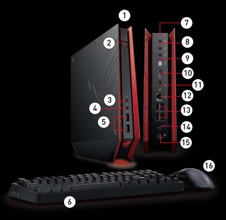 ROG Console PC - ROG GR8 - ASUS