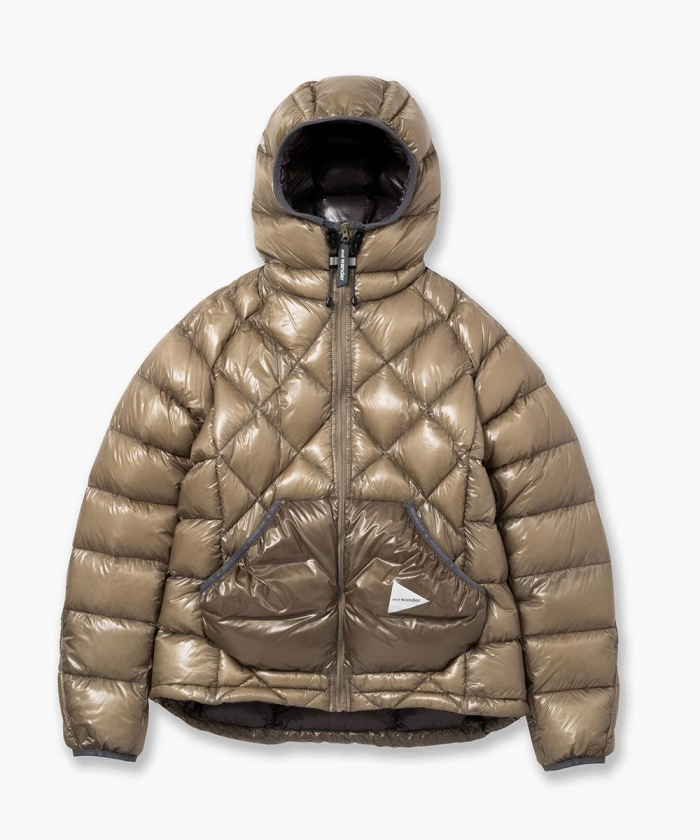 diamond stitch down jacket - and wander online shop