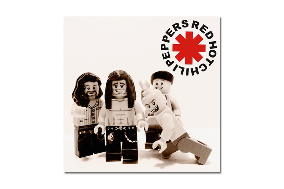 round about: 20 Iconic Bands Recreated in LEGO