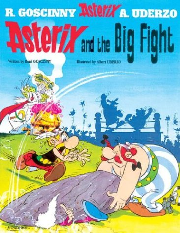 Amazon.com: Asterix and the Big Fight (9780752866178): Rene Goscinny, Albert Uderzo: Books