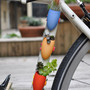 Orange Bike Planter A Wearable Planter for Your by wearableplanter