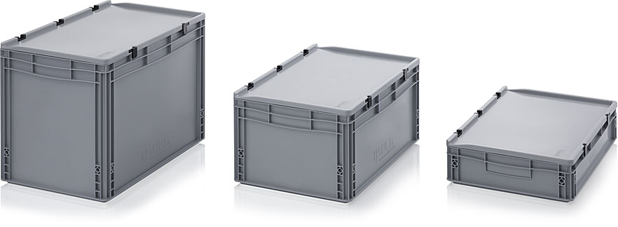 Euro Containers With Lids | AUER Packaging
