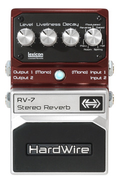 RV-7 Stereo Reverb | Hardwire Extreme Performance Pedals