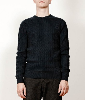 CHAUNCEYSTORE - Cashmere cables crew neck