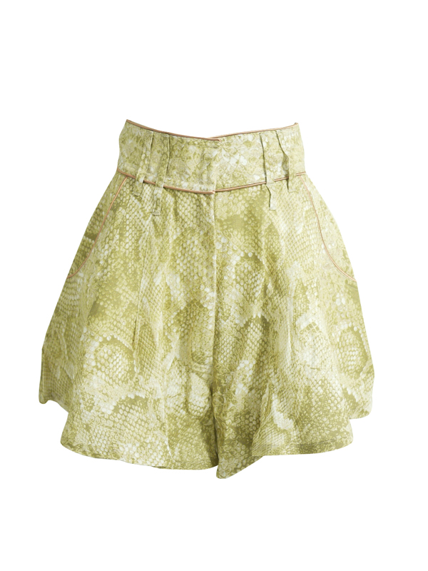 made in HEAVEN::SLYTHERIN SHORTS (CLEOPATRA)||OnEshop