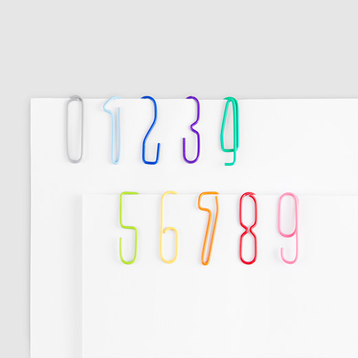 Numberclips | MoMA Store