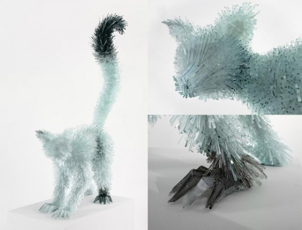 Shattered Glass Animals by Marta Klonowska | 123 Inspiration