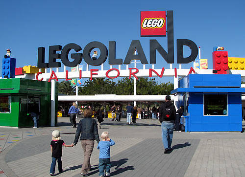 LEGOLAND California pictures- Photo gallery of Lego land theme park in Carlsbad, CA
