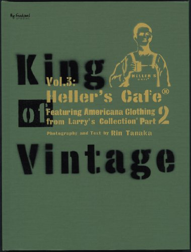 Amazon.co.jp: King Of Vintage Vol.3 : Heller's Caf Featuring Larry's Collections Part 2: 田中凛太郎: 本