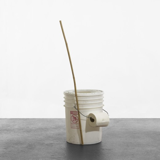 328: Jason Rhoades / Portable Toilet and Bamboo Stick/Pencil Set < Post War + Contemporary Art, 14 September 2010 < Auctions | Wright