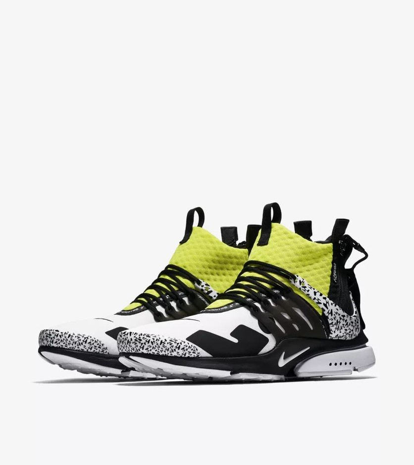 NIKE × ACRONYM AIR PRESTO MID ニューカラーが9/20に国内発売【直リンク有り】