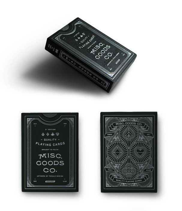 Misc. Goods Playing Cards – The Colossal Shop