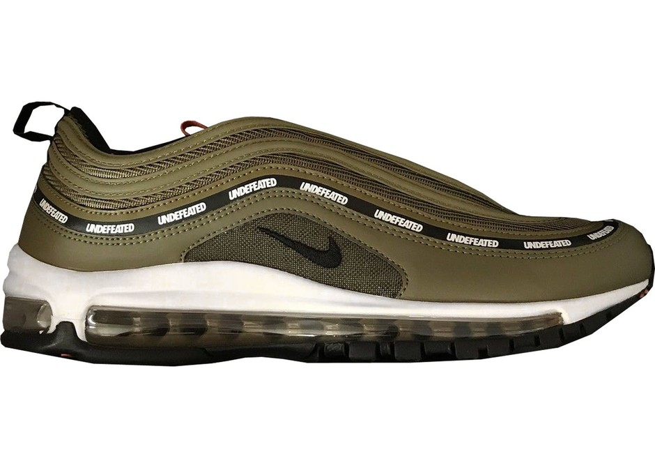 Undefeated Nike Air Max 97 Olive Release Date - Sneaker Bar Detroit