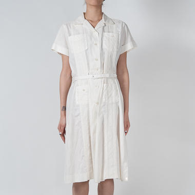 PARTY CUBA DRESS(WHITE) - SON OF THE CHEESE ONLINE SHOP