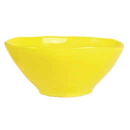 Yellow Cereal Bowl Organic Shaped - Rice A/S