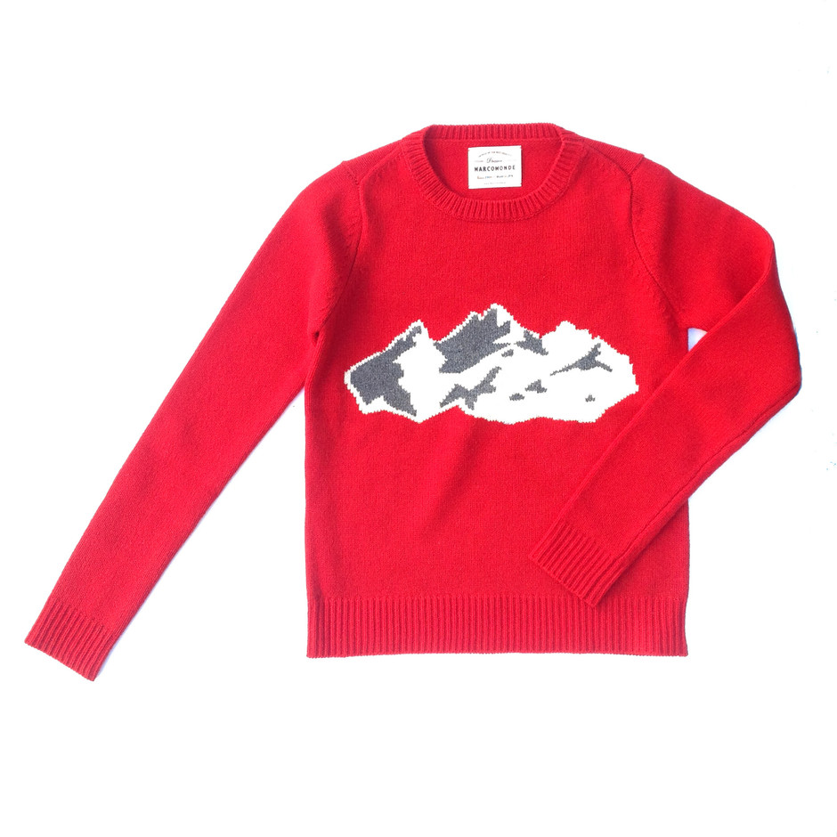MARCOMONDE / mountain knit / NAVY | DESPERADO ONLINE STORE