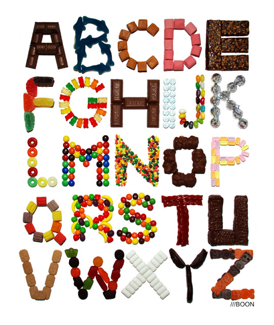 Varietats: Alphabets by Mike Boon