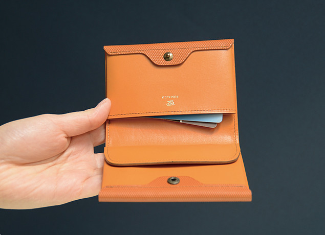 CROSSGRAIN LEATHER CARD & COIN WALLET | POSTALCO
