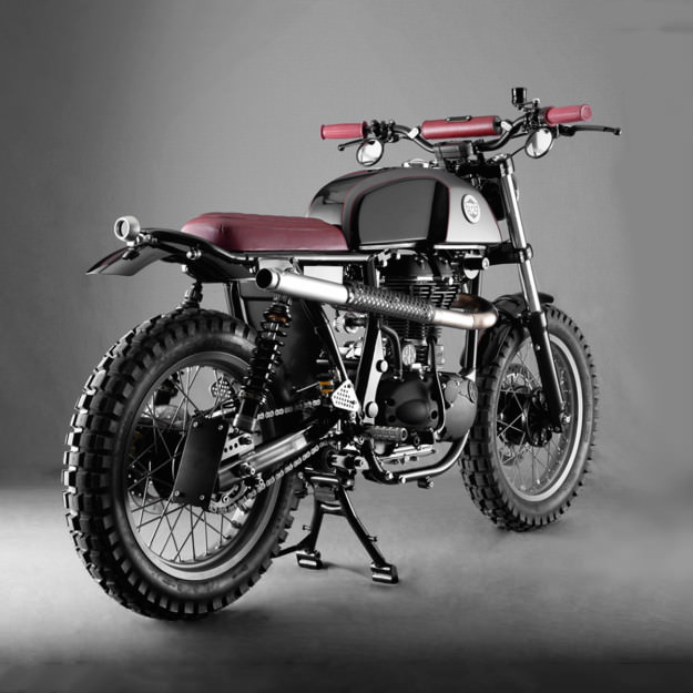 Here Comes Royal Enfield: Analog's custom Continental   Bike EXIF