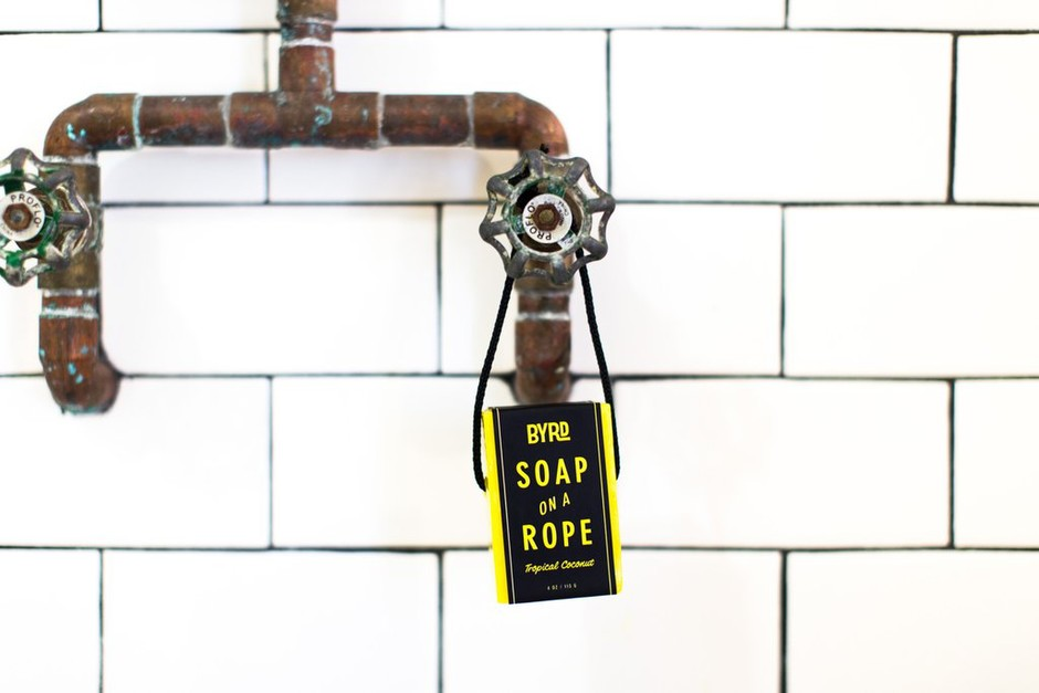 Mini Soap on a Rope – BYRD Hairdo Products
