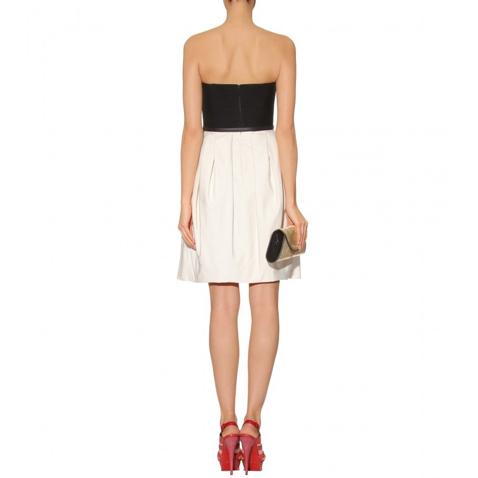 mytheresa.com - Jason Wu - BELTED TWO-TONE DRESS - Luxury Fashion for Women / Designer clothing, shoes, bags